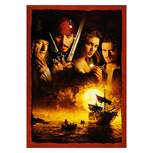 Pirates of the Caribbean. Размер: 35 х 50 см